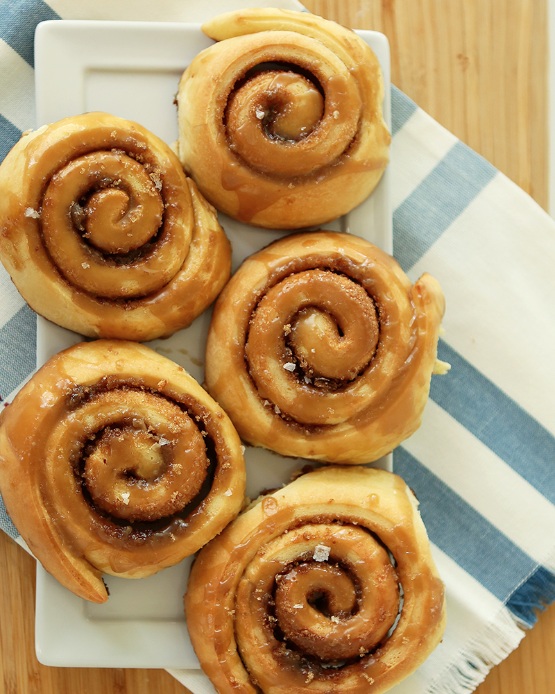 Cinamon Rolls with Brown Sugar Glaze